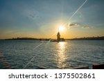 maiden's tower in istanbul ... | Shutterstock . vector #1375502861