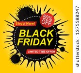 black friday sale | Shutterstock .eps vector #1375588247
