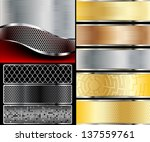 illustration of abstract... | Shutterstock .eps vector #137559761