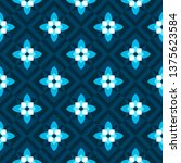 seamless pattern with geometric ... | Shutterstock .eps vector #1375623584