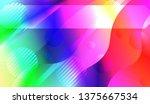 blurred decorative design in... | Shutterstock .eps vector #1375667534