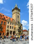 prague  czech republic   july... | Shutterstock . vector #1375695257