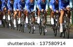 chrono  bicyclist | Shutterstock . vector #137580914