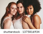 close up of females of... | Shutterstock . vector #1375816934