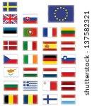 european flags buttons | Shutterstock .eps vector #137582321