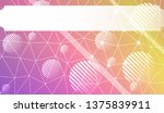 decorative background with...   Shutterstock .eps vector #1375839911