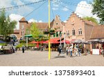 brussels  belgium   13 may 2016 ... | Shutterstock . vector #1375893401