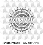 adjustable realistic grey...   Shutterstock .eps vector #1375893941