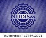 nudism with jean texture   Shutterstock .eps vector #1375912721