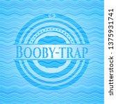 booby trap light blue water... | Shutterstock .eps vector #1375931741