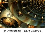 abstract background  fantastic... | Shutterstock . vector #1375933991