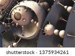 abstract background 3d ... | Shutterstock . vector #1375934261