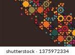 arabic arabesque design...   Shutterstock .eps vector #1375972334