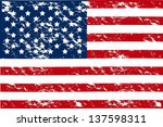 illustration patriot united... | Shutterstock .eps vector #137598311