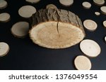 Pine Tree Cross Sections With...