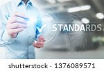 standard. quality control. iso...   Shutterstock . vector #1376089571