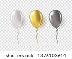 balloons isolated on... | Shutterstock .eps vector #1376103614