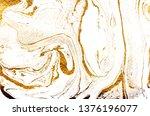 golden swirl  artistic design.... | Shutterstock . vector #1376196077