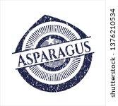 blue asparagus distressed...   Shutterstock .eps vector #1376210534