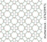seamless vector pattern in... | Shutterstock .eps vector #1376259971