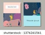 creative universal artistic... | Shutterstock .eps vector #1376261561