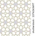seamless vector pattern.... | Shutterstock .eps vector #1376263697