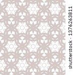 seamless vector pattern.... | Shutterstock .eps vector #1376263811