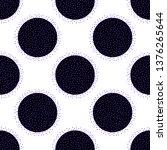 colorful polka dot seamless... | Shutterstock .eps vector #1376265644