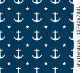 seamless vector pattern with... | Shutterstock .eps vector #1376267831