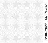 seamless geometric pattern of... | Shutterstock .eps vector #1376267864