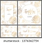 wedding or other life events... | Shutterstock .eps vector #1376362754