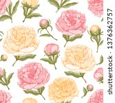 vector seamless pattern with... | Shutterstock .eps vector #1376362757