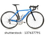race road bike isolated on... | Shutterstock . vector #137637791