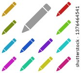 pencil tool  text multi color...