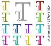 font size  text multi color...