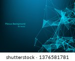 geometric graphic background... | Shutterstock .eps vector #1376581781