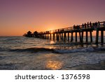 Pink Sunset In Florida