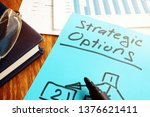 strategic options concept.... | Shutterstock . vector #1376621411