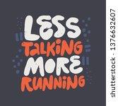 inspiring slogan  phrase color...   Shutterstock .eps vector #1376632607
