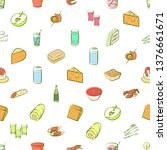 food images. background for... | Shutterstock .eps vector #1376661671