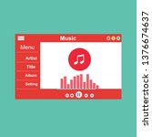 mobile music application...