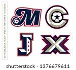 modern professional letter... | Shutterstock .eps vector #1376679611