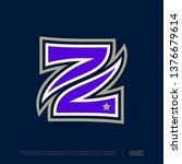 modern professional letter... | Shutterstock .eps vector #1376679614