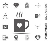cup with heart icon. simple...