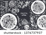 template design with graphic... | Shutterstock .eps vector #1376737937