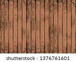 the dark brown wood texture... | Shutterstock . vector #1376761601