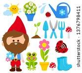 gardening illustration... | Shutterstock .eps vector #1376798411