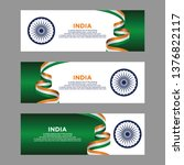 banner india independence day... | Shutterstock .eps vector #1376822117