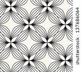 seamless pattern. floral... | Shutterstock .eps vector #137686064