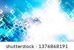 modern abstract blue and white... | Shutterstock .eps vector #1376868191